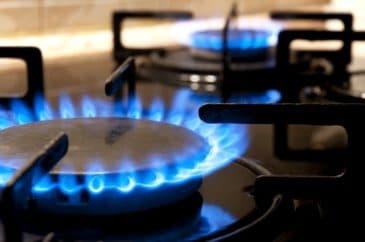 carbon monoxide from a gas stove