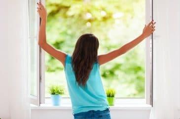 clean air inside home